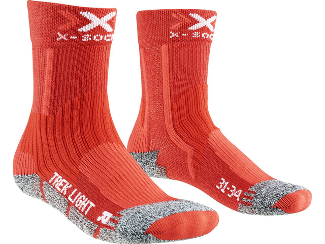 X-Bionic Light 2.0 Socks Children red
